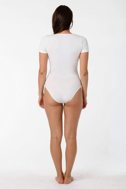 B115CFS - Short Sleeve Bodysuit Bodysuits Los Angeles Apparel