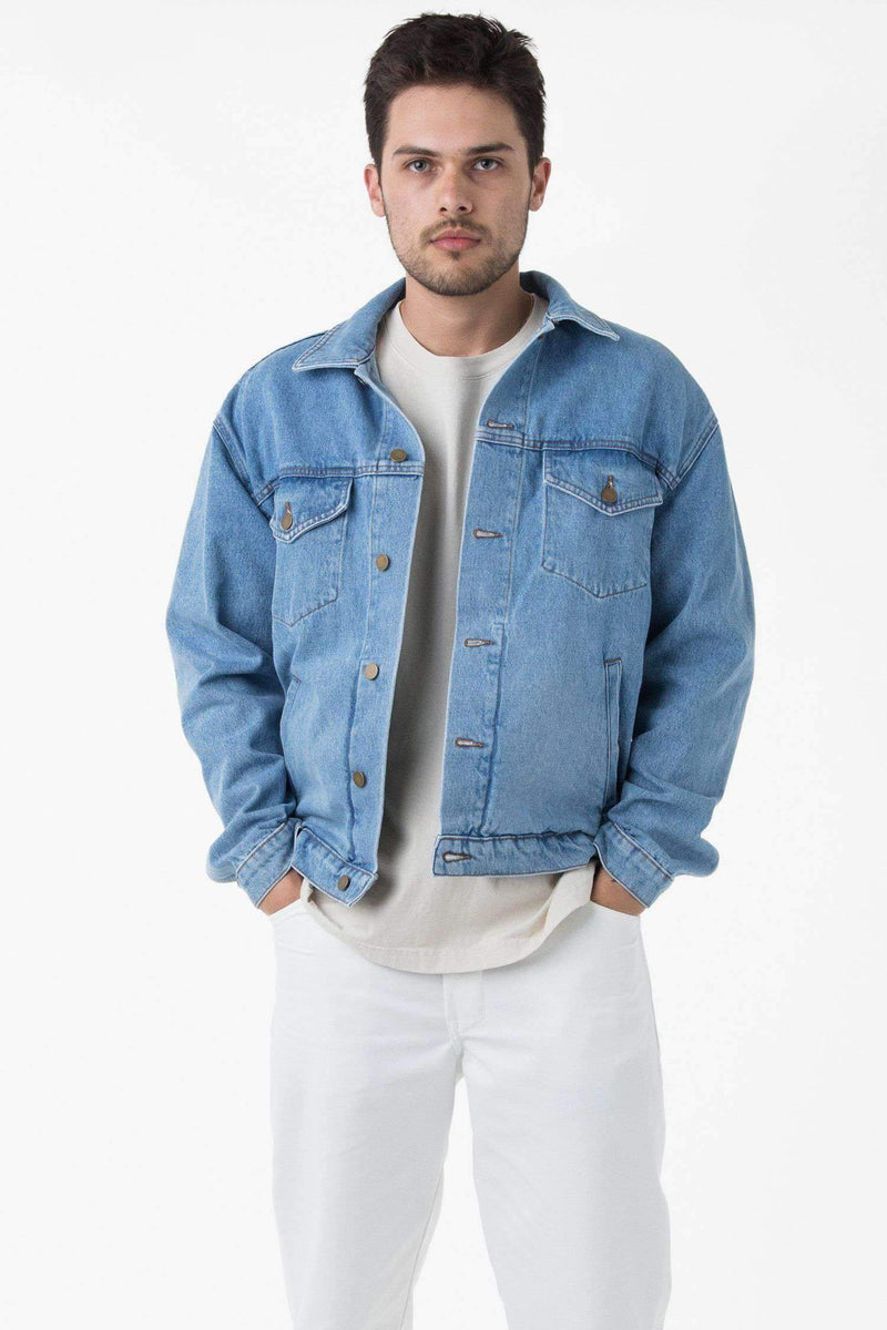 RDNM04 - Denim Jacket Jacket Los Angeles Apparel Medium Wash XS