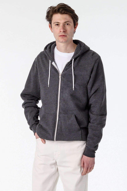 F97 - Flex Fleece Zip Up Hoodie Sweatshirt Los Angeles Apparel