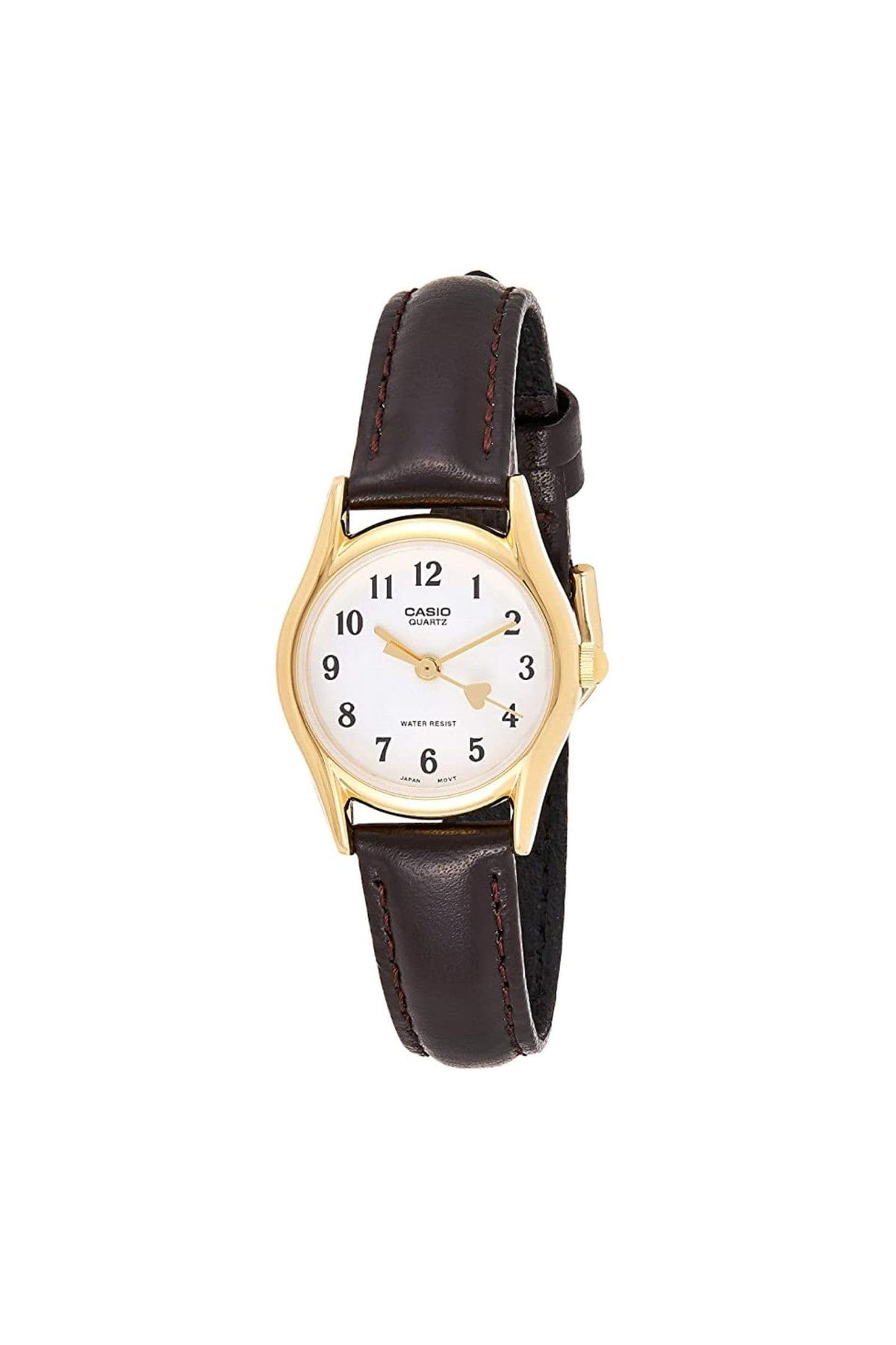 WCHA1049 - Casio Women's Heart Leather Watch LTP-1094Q-7B5
