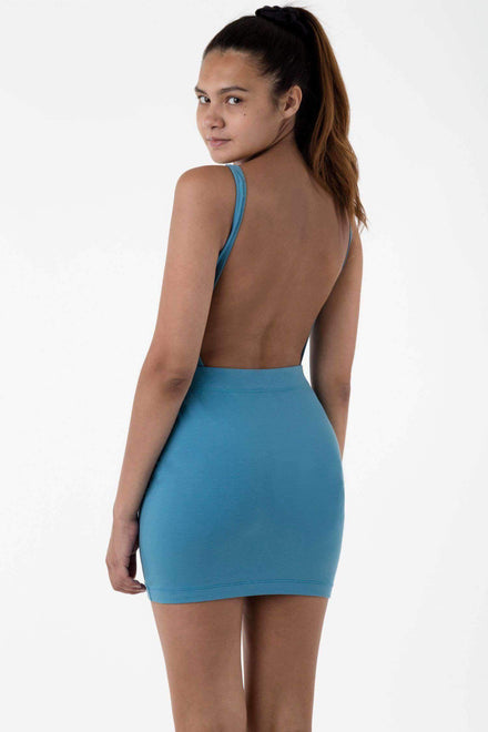 8385 - Cotton Spandex Mini Skirt Skirt Los Angeles Apparel Niagara XS