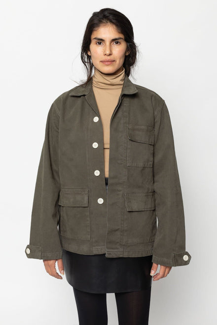 RDC400GD Unisex - 13 Oz. Canvas Military Jacket