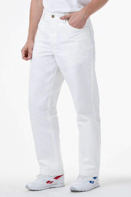 RDC405 - Duck Canvas Work Pant Pants Los Angeles Apparel White 25/28