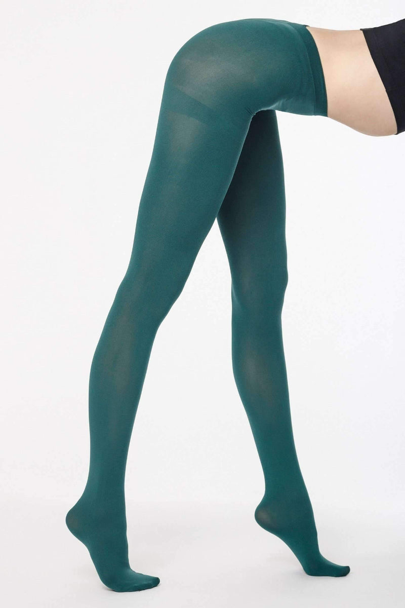 RN330 - Opaque Tights hosiery Los Angeles Apparel Forest OS