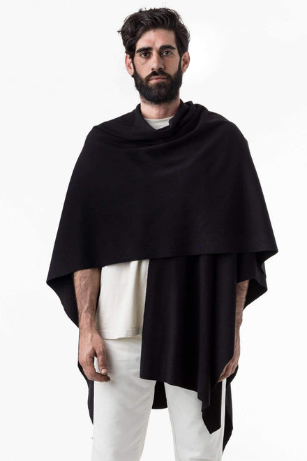 RHFR399GD - Heavy Cotton Rib Poncho Poncho Los Angeles Apparel