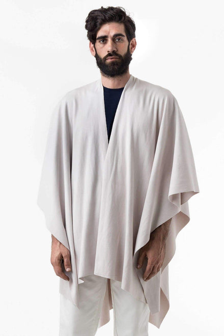 RHFR399GD - Heavy Cotton Rib Poncho Poncho Los Angeles Apparel Mist