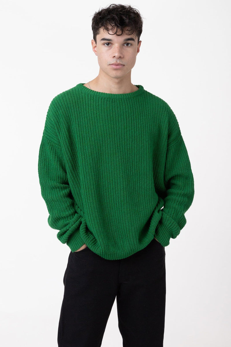 FMP01 - Unisex Fisherman Pullover sweater Los Angeles Apparel Green XS