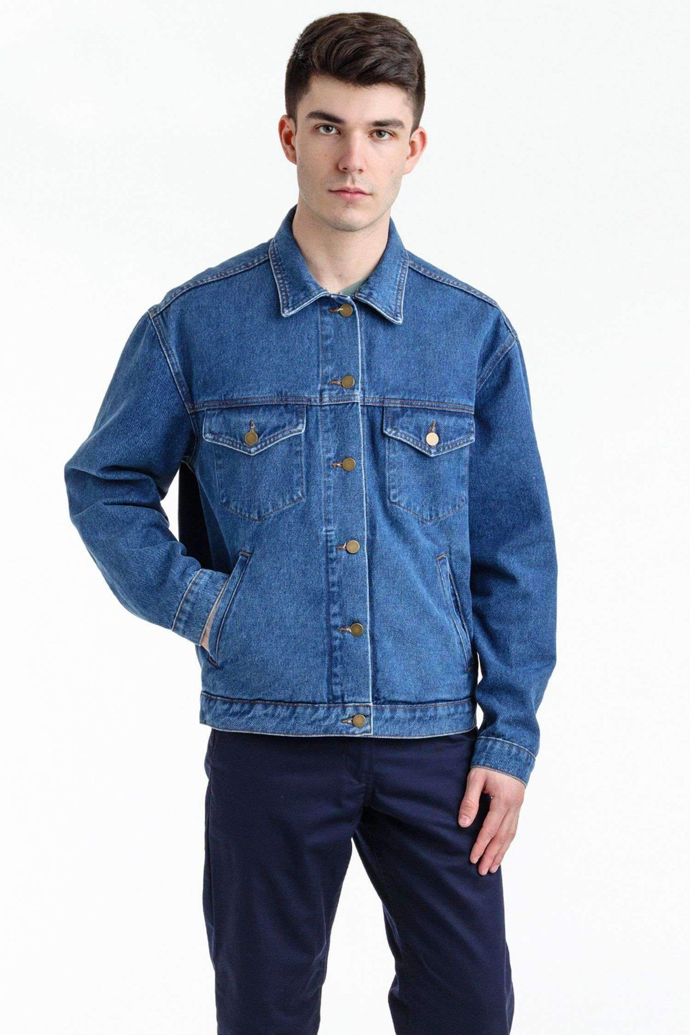 RDNM04 - Denim Jacket Jacket Los Angeles Apparel