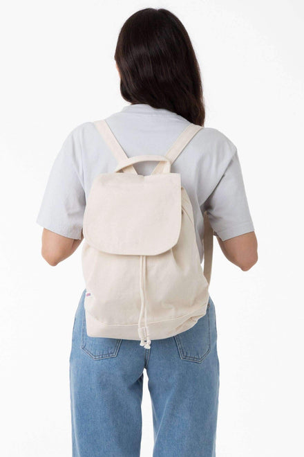 BD92 - Bull Denim Backpack Bags Los Angeles Apparel Natural