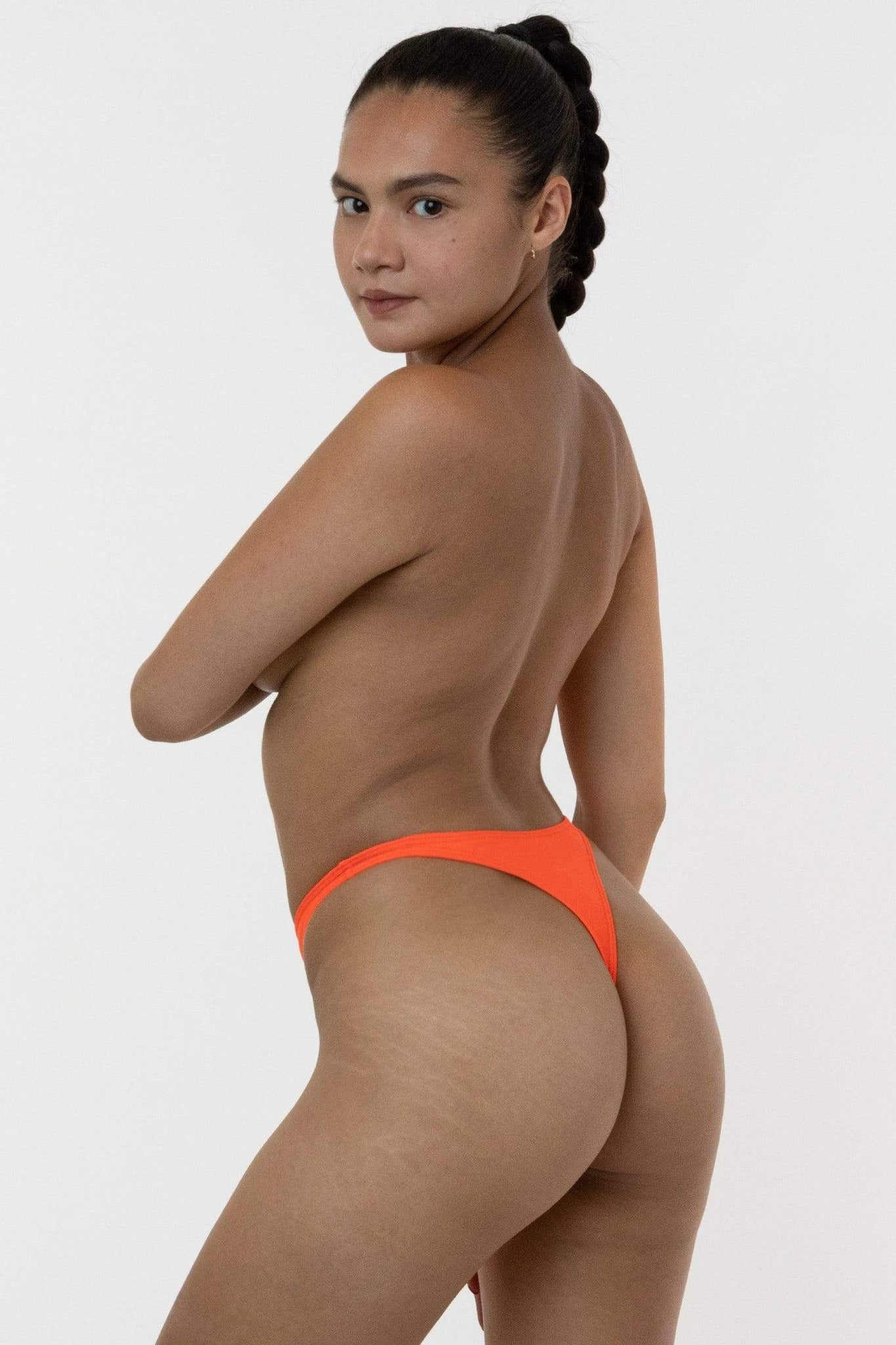 RNT090 - High Cut Thong Bikini Bottom