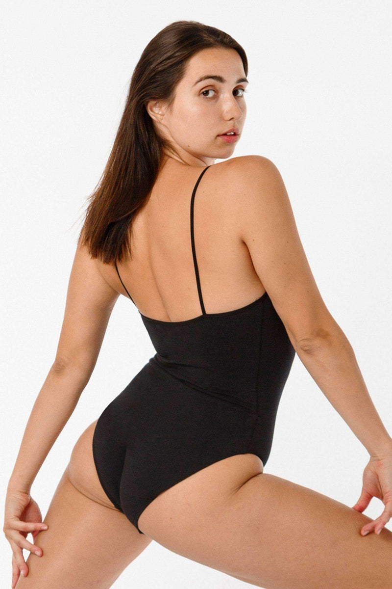 B100CF - Spaghetti Bodysuit Bodysuits Los Angeles Apparel