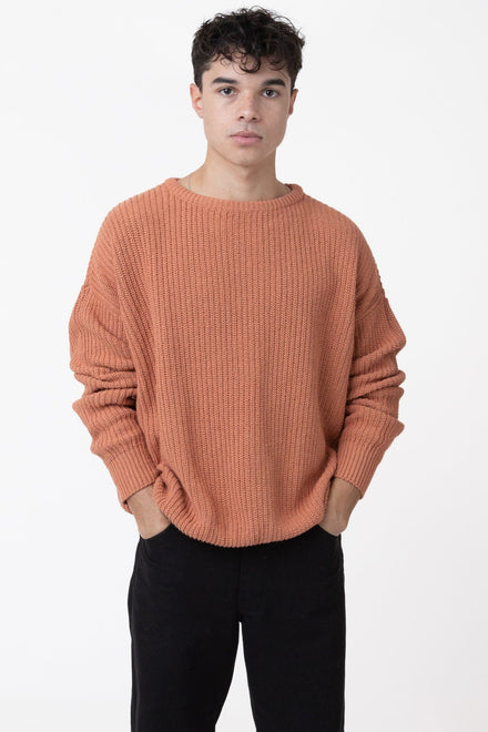 FMP01 - Unisex Fisherman Pullover sweater Los Angeles Apparel Terracotta XS