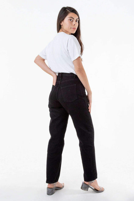 RDNW01 - Women's Relaxed Fit Jeans Black Jeans Los Angeles Apparel