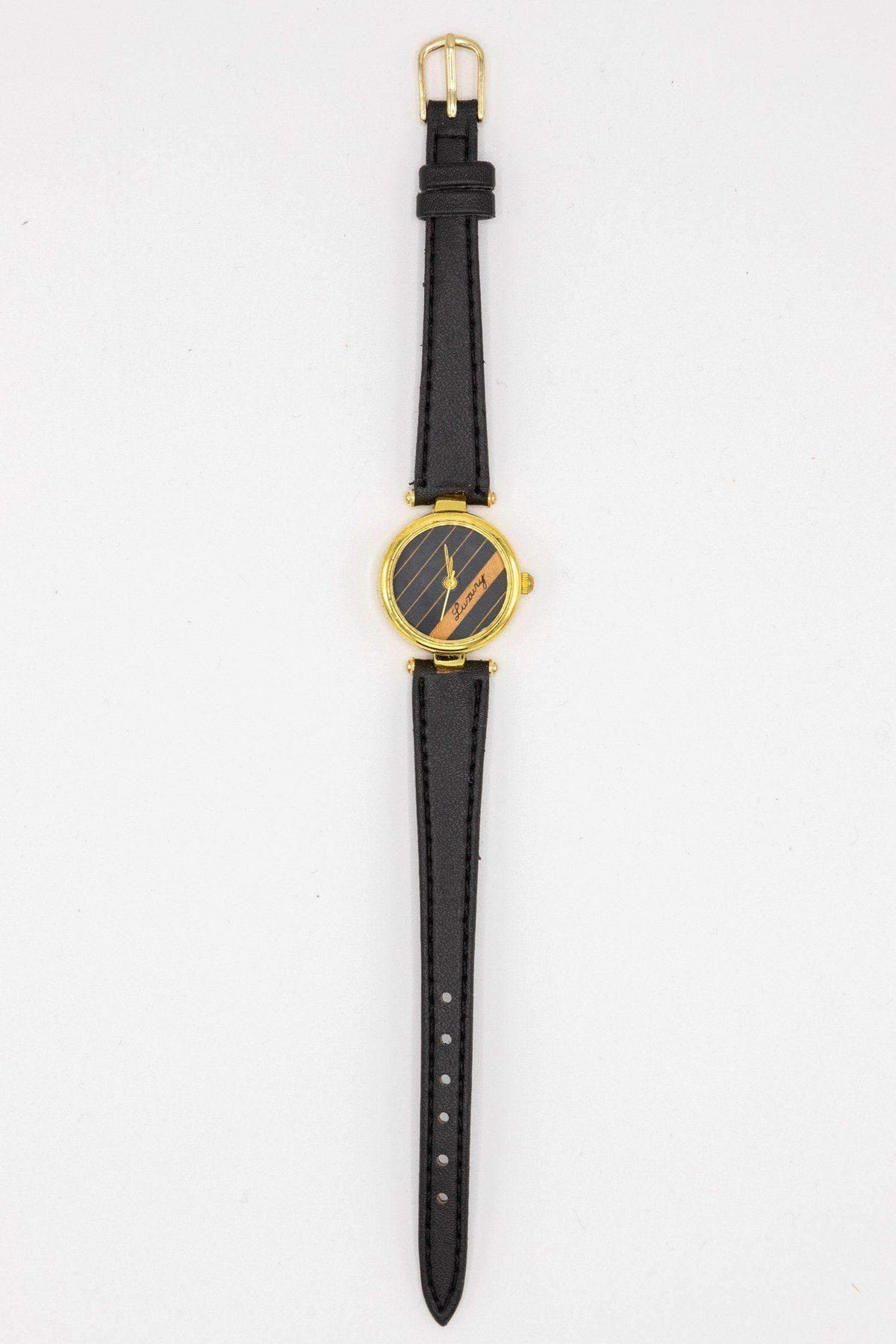 WCHLXS - Luxury Stripe Watch watch Los Angeles Apparel OS Black_Black