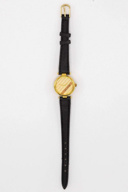 WCHLXS - Luxury Stripe Watch watch Los Angeles Apparel OS Black_Creme