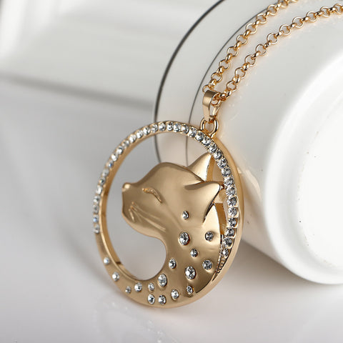 Cat Leopard necklace