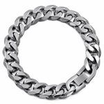 Cuban links & chains Stainless Steel Bracelet