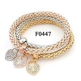 Musical Note Elastic Rope Bracelet