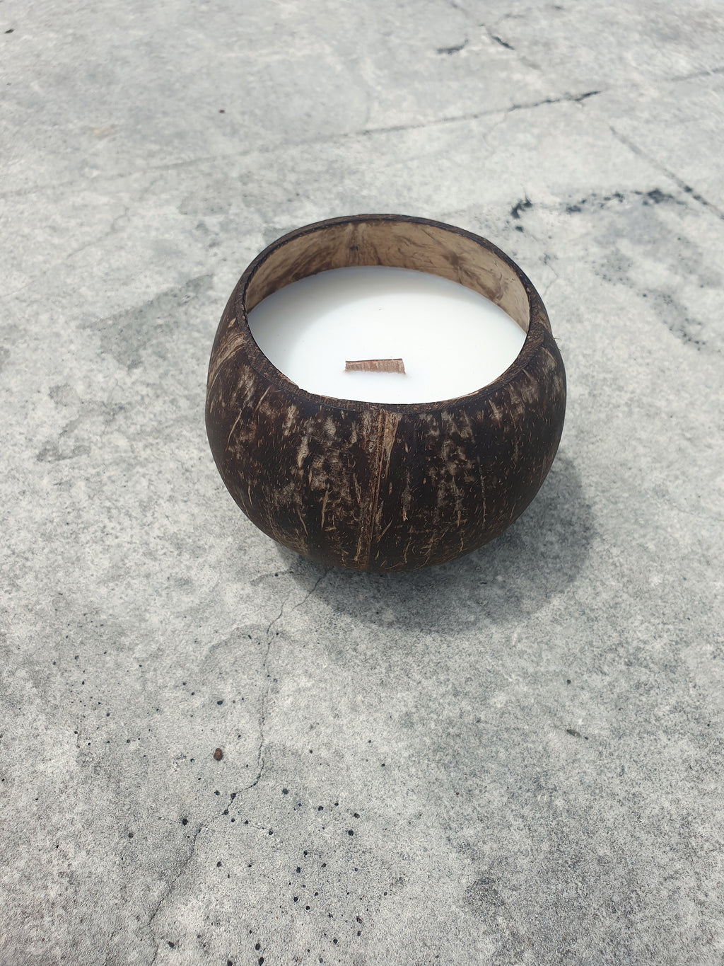 Coconut Shell Soy Candle ~ Toasted Coconut Scent