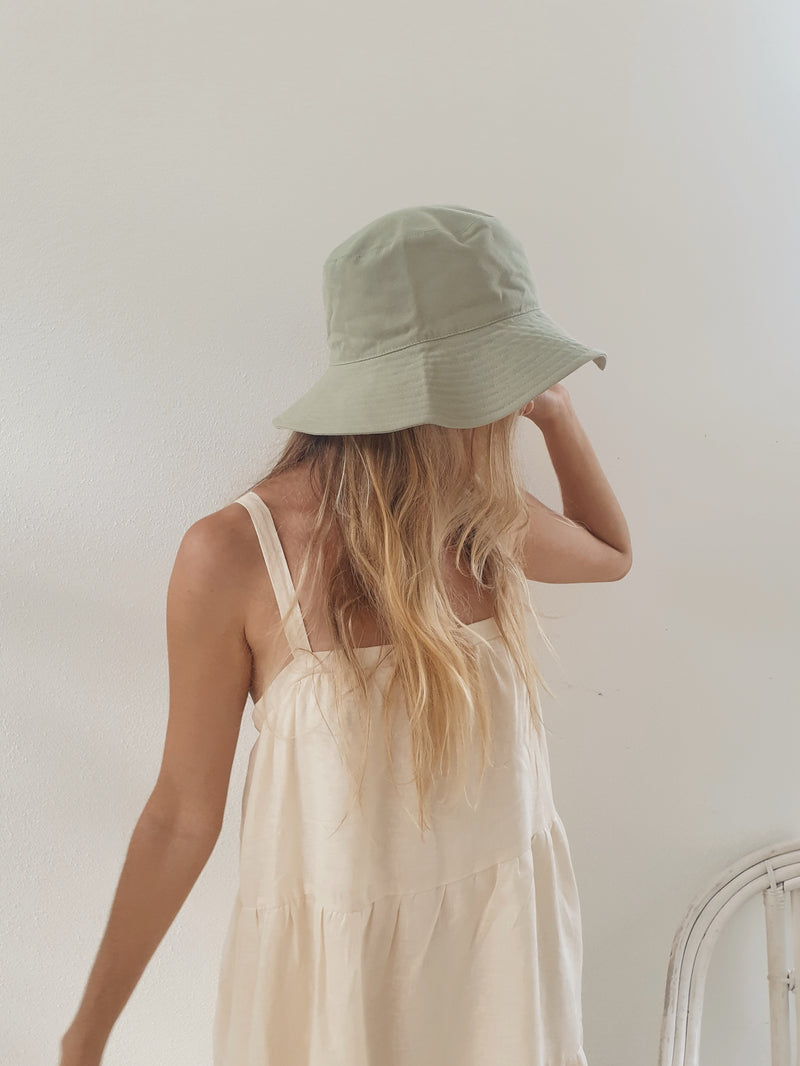 Monti Bucket Hat ~ Olive Green