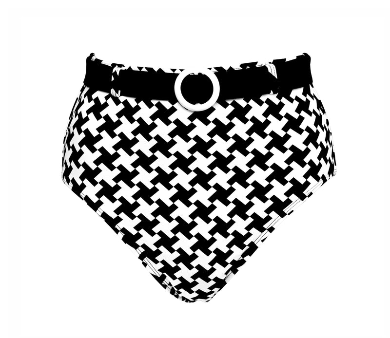 Grace High Pant ~ Houndstooth