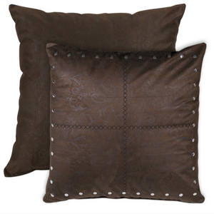 Tucson Chocolate - Reversible - Grande Cushion 27""