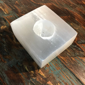 Moonlight chunky tea light holder