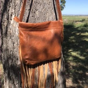 ♦️Lakoda handbag - Antiqued Tan