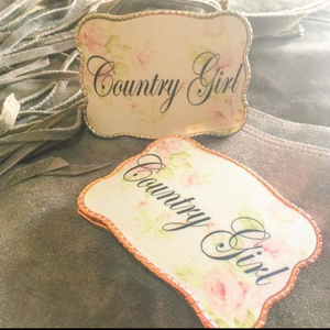 Wallet Buckle Country Girl Floral