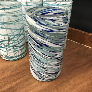 Mexican glassware Blue