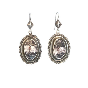 White Buffalo Vintage earrings