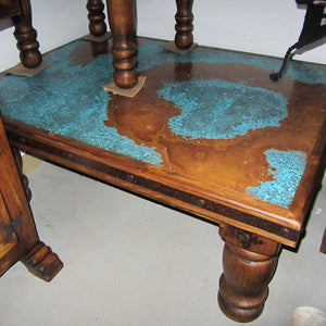Brazos rustic coffee table
