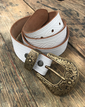 White Horse belt - Size 42 XL