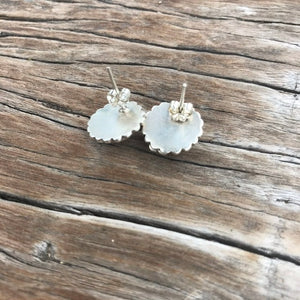 Carmen White Buffalo stud earrings
