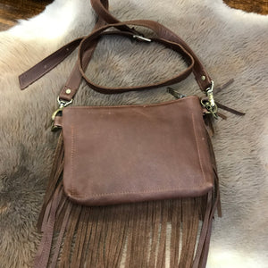 ♦️Trinity Mini handbag - Dark brown