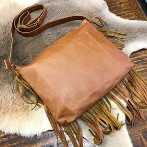 Trinity handbag - Natural Tan