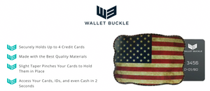 Wallet Buckle Live to Ride - Sale