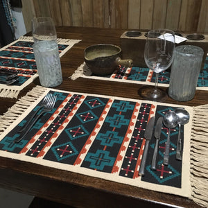 Azteca Milta Southwest placemats - Set of 6