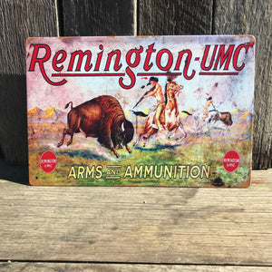 Remington UMC tin sign - D4