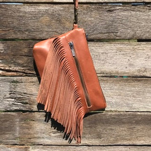 ♦️Dallas clutch - Spice brown