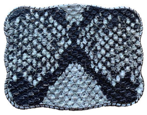 Wallet Buckle Snakeskin for cowgirls and the cowboys