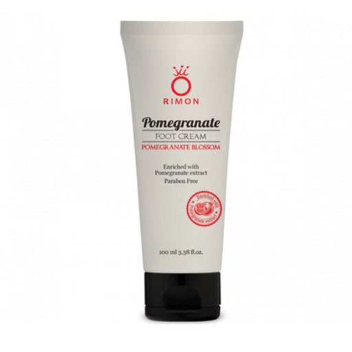 Foot cream - Enriched with pomegranate essences