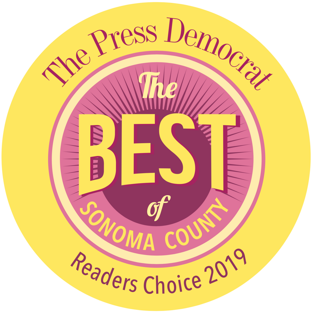 THE BEST OF SONOMA COUNTY 2019!!