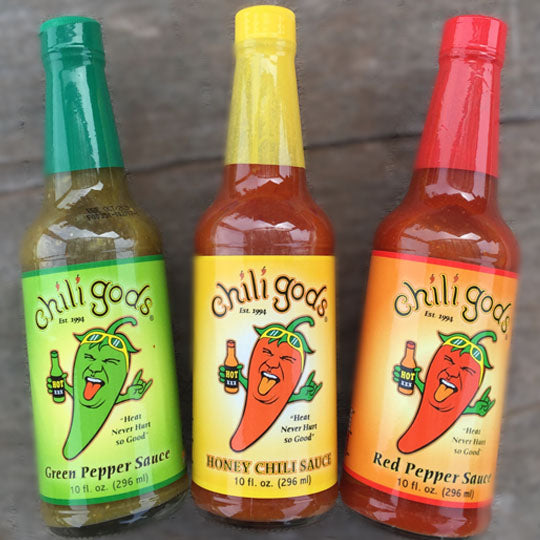 "Chili Gods Sauces ""Heat never hurt so GOOD!"""