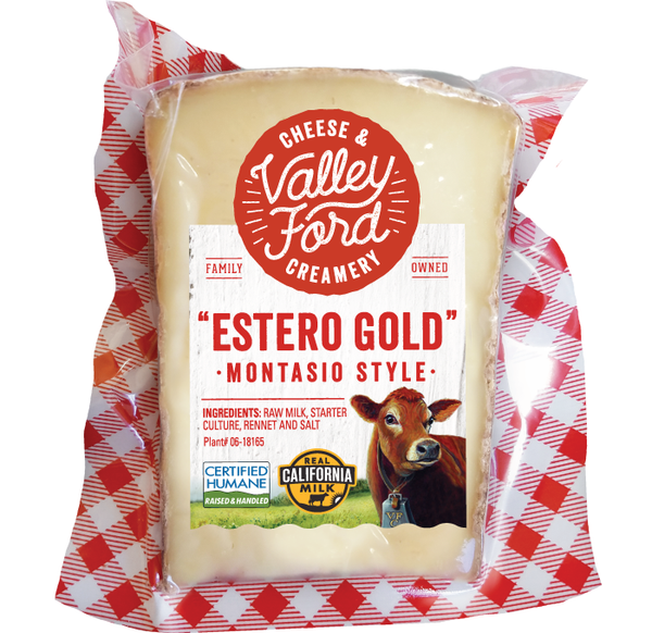 "Valley Ford, ""Estero Gold"" Cheese Wedge"