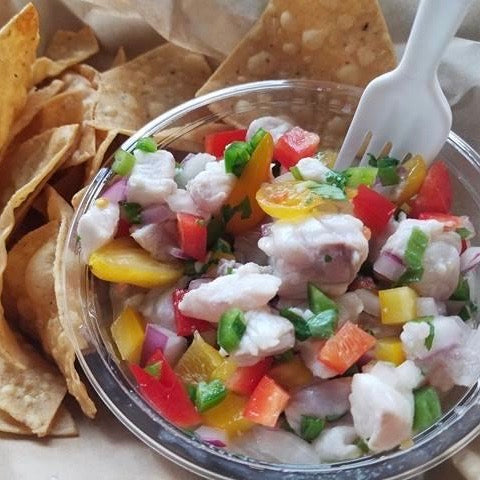 Ceviche & Chips!