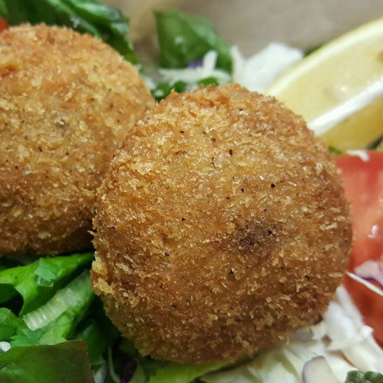Dungeness Crab Cakes (Jumbo  Size) Six Pack!