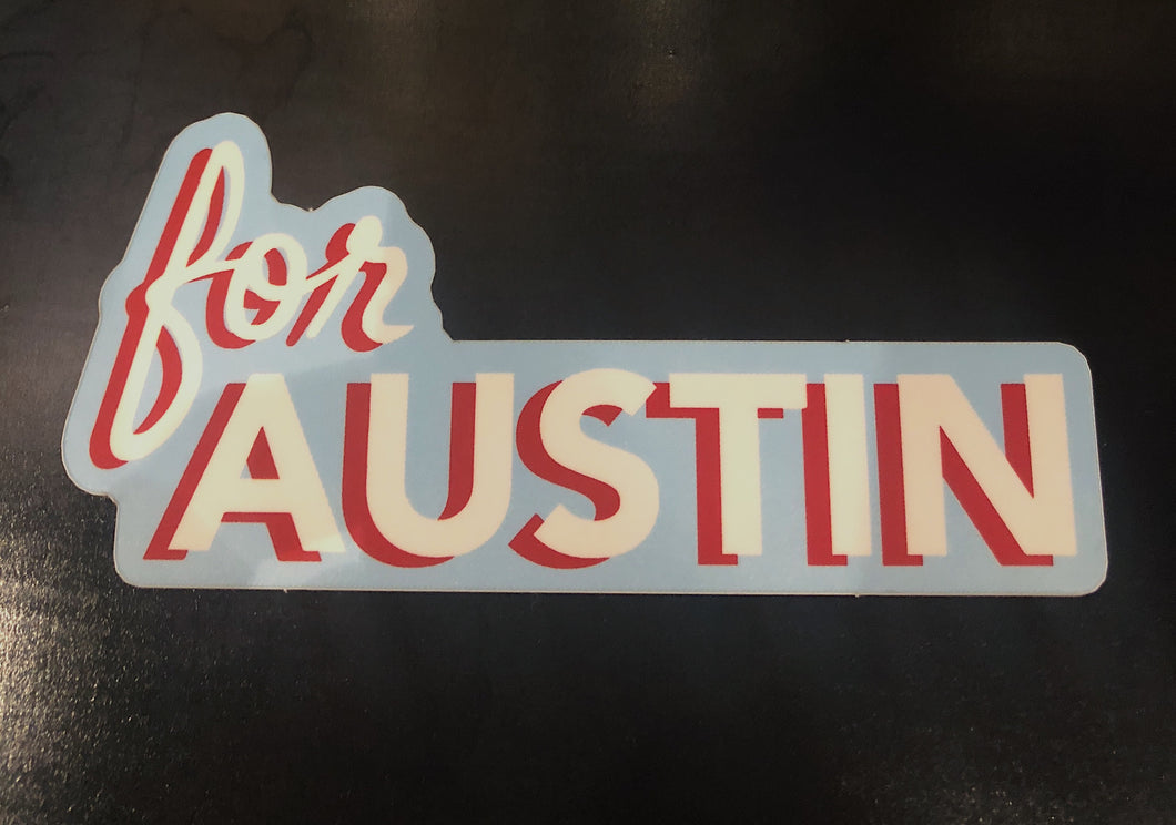 For Austin Sticker