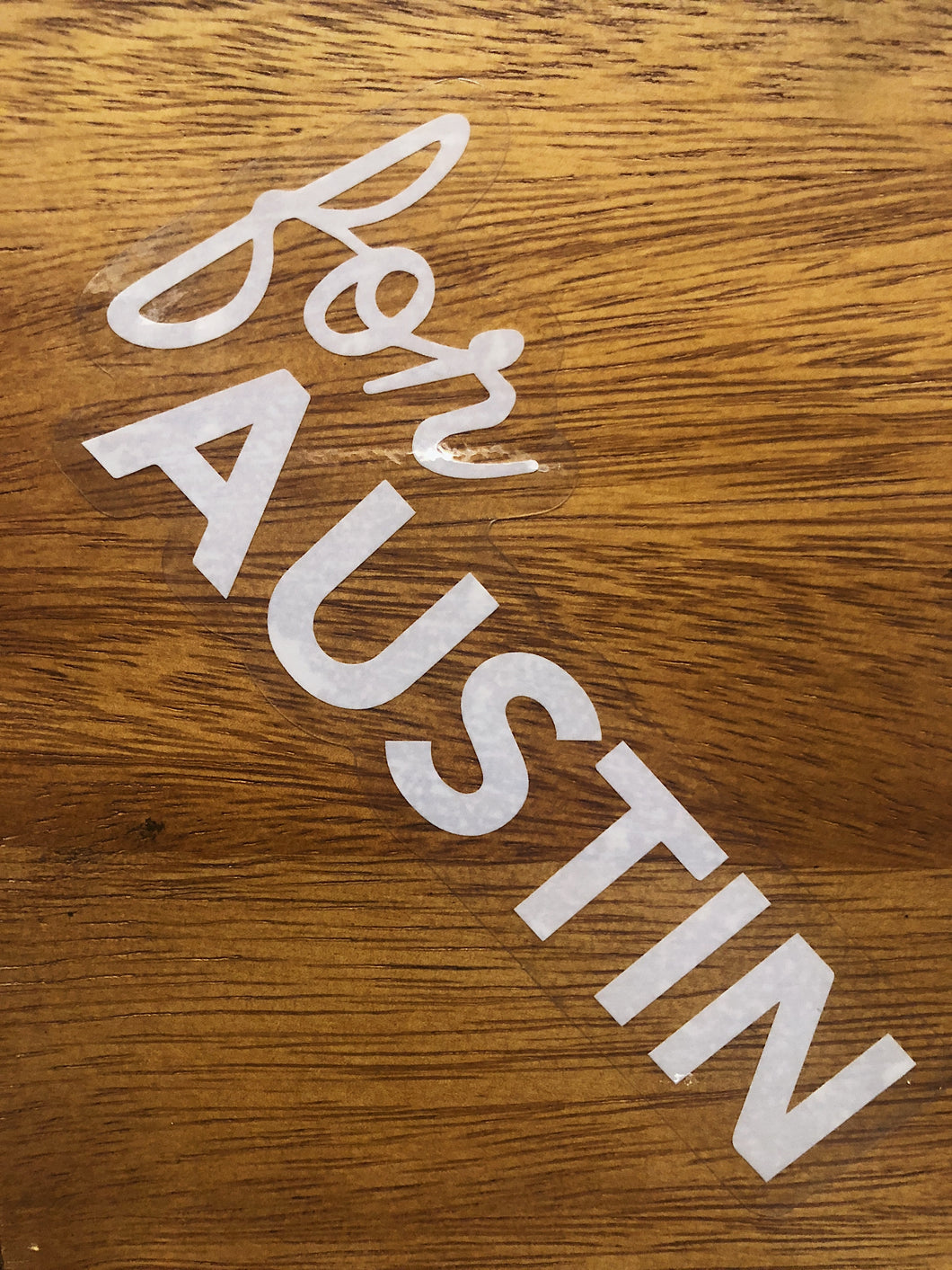 For Austin Car Decal