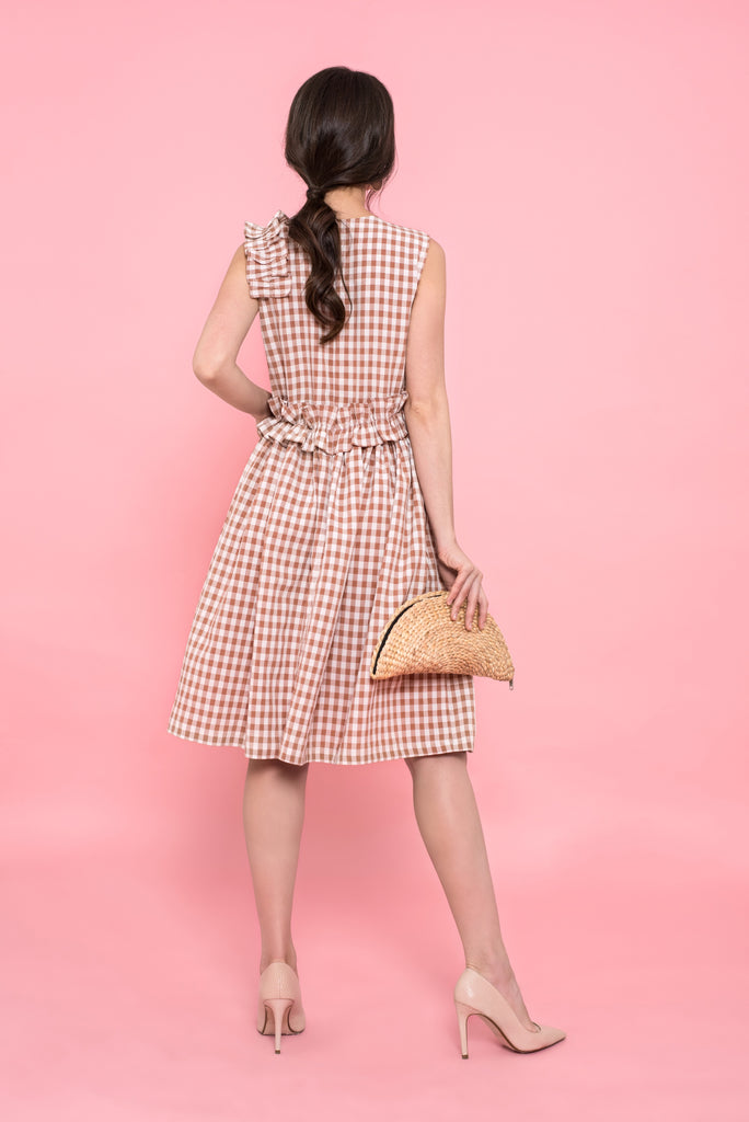 Laguna Gingham Dress